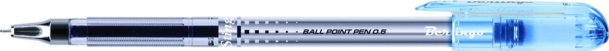 Berlingo Ручка шариковая ST цвет чернил синийKS2727Шариковая ручка Berlingo ST с колпачком в цвет чернил и клипом. Качественные чернила обеспечивают гладкое и ровное письмо. Прозрачный пластиковый корпус позволяет контролировать расход чернил. Диаметр пишущего узла - 0,5 мм.