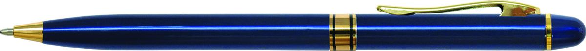 Berlingo Ручка шариковая Golden Premium цвет корпуса синийCPs_70132Изящная тонкая автоматическая шариковая ручка Berlingo Golden Premium с поворотным механизмом. Удобный клип. Особых условий хранения и транспортировки не требует. Диаметр пишущего узла - 0,7 мм. Цвет чернил - синий. Подходит для нанесения логотипа. Ручка упакована в индивидуальный пластиковый футляр.
