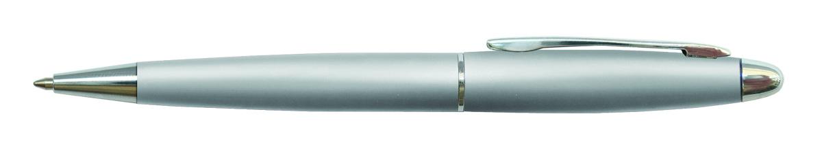 Berlingo Ручка шариковая Velvet Standard цвет корпуса серебристыйCPs_70220Автоматическая шариковая ручка Berlingo Velvet Standard с поворотным механизмом. Обтекаемая форма корпуса. Цвет чернил - синий. Диаметр пишущего узла - 0,7 мм. Подходит для нанесения логотипа. Ручка упакована в индивидуальный пластиковый футляр.