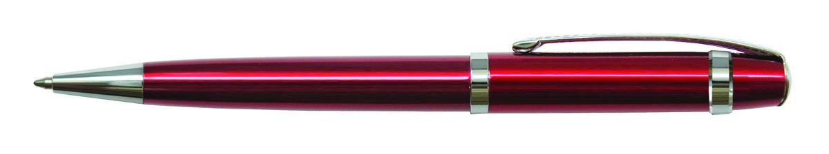 Berlingo Ручка шариковая Velvet Classic цвет корпуса бордовыйCPs_70243Оригинальная автоматическая шариковая ручка Berlingo Velvet Classic с поворотным механизмом. Оригинальные насечки на кольце и в зоне клипа придают ручке эксклюзивный вид. Цвет чернил - синий. Диаметр пишущего узла - 0,7 мм. Подходит для нанесения логотипа. Ручка упакована в индивидуальный пластиковый футляр.
