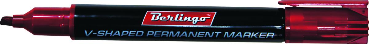 Berlingo Маркер перманентный цвет красный BMc_04603