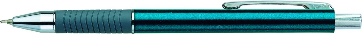 Berlingo Ручка шариковая CS-07 синяяCBm_70402Автоматическая шариковая ручка Berlingo CS-07 с металлическим клипом и мягким резиновым грипом предназначена для комфортного письма. Диаметр пишущего узла - 0,7 мм. Чернила на масляной основе. Цвет чернил - синий.