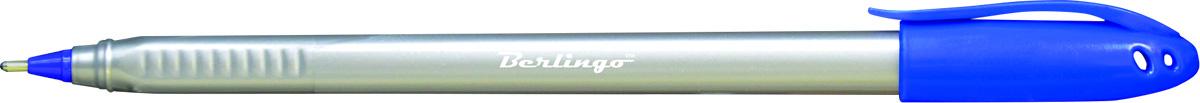Berlingo Ручка шариковая Triangle Silver цвет синийCBp_10792