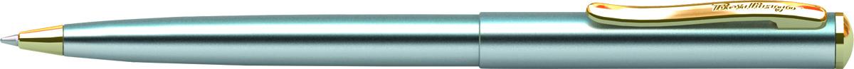 Berlingo Ручка шариковая Velvet Prestige цвет корпуса серебристый золотистыйCPs_72701Корпус хром/золото