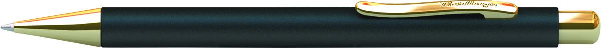 Berlingo Ручка шариковая Golden Standard цвет корпуса черный золотистыйCPs_72801Корпус черный/золото