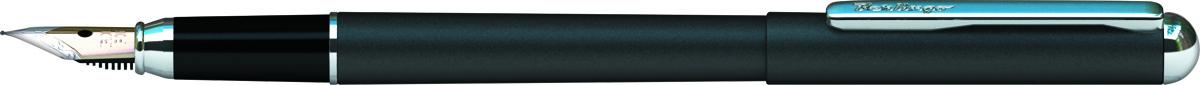 Berlingo Ручка перьевая Silver Prestige цвет корпуса черныйCPs_82101Перьевая ручка Berlingo Silver Prestige создана для настоящих ценителей классики. Цвет корпуса серебристый. Оригинальный клип. Изящная гравировка.