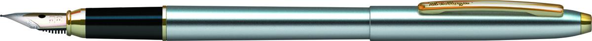 Berlingo Ручка перьевая Golden Prestige цвет корпуса серебристый золотистый CPs_82314