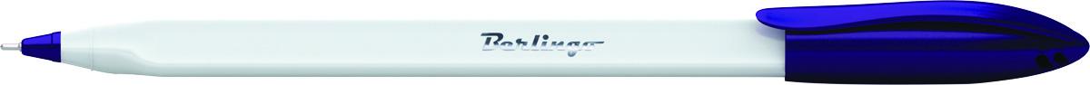Berlingo Ручка шариковая Triangle Snow цвет синий