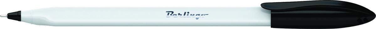 Berlingo Ручка шариковая Triangle Snow цвет черныйCBp_70851Одноразовая шариковая ручка Berlingo Triangle Snow с колпачком и пластиковым клипом. Специальный пишущий узел и чернила пониженной вязкости обеспечивают супермягкое письмо. Удобный корпус трёхгранной формы. Вентилируемый колпачок. Рифление в зоне захвата препятствует скольжению пальцев при письме. Цвет корпуса - белоснежный, цвет деталей соответствует цвету чернил. Диаметр пишущего узла - 0,7 мм.