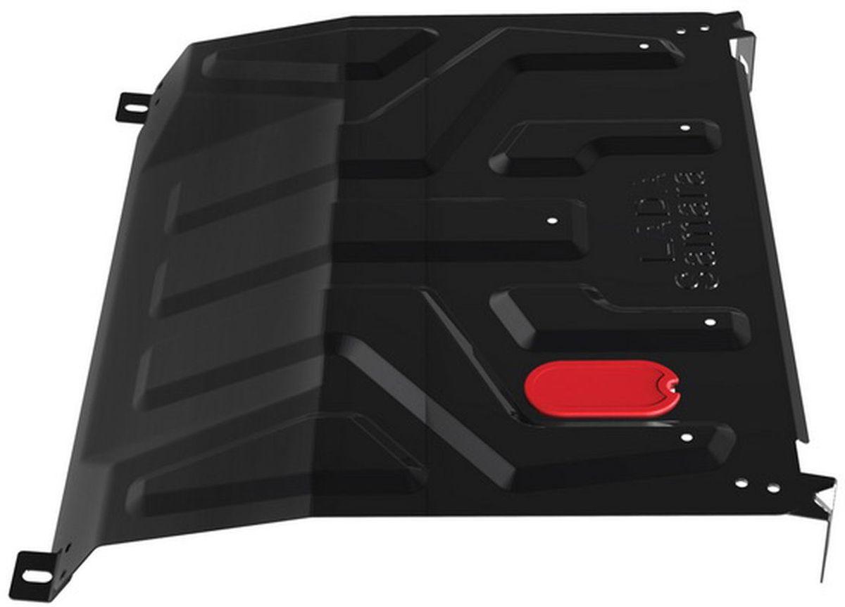 Защита картера и КПП Автоброня, для Lada 2108/15. 1.06015.11.06015.1Технологически совершенный продукт за невысокую стоимость. Защита разработана с учетом особенностей днища автомобиля, что позволяет сохранить дорожный просвет с минимальным изменением. Защита устанавливается в штатные места кузова автомобиля. Глубокий штамп обеспечивает до двух раз больше жесткости в сравнении с обычной защитой той же толщины. Проштампованные ребра жесткости препятствуют деформации защиты при ударах. Тепловой зазор и вентиляционные отверстия обеспечивают сохранение температурного режима двигателя в норме. Скрытый крепеж предотвращает срыв крепежных элементов при наезде на препятствие. Шумопоглощающие резиновые элементы обеспечивают комфортную езду без вибраций и скрежета металла, а съемные лючки для слива масла и замены фильтра - экономию средств и время. Конструкция изделия не влияет на пассивную безопасность автомобиля (при ударе защита не воздействует на деформационные зоны кузова). Со штатным крепежом. В комплекте инструкция по...