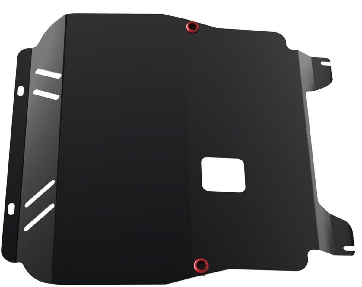 Защита картера и КПП Автоброня, для Chevrolet Aveo. 111.01001.2111.01001.2Технологически совершенный продукт за невысокую стоимость. Защита разработана с учетом особенностей днища автомобиля, что позволяет сохранить дорожный просвет с минимальным изменением. Защита устанавливается в штатные места кузова автомобиля. Глубокий штамп обеспечивает до двух раз больше жесткости в сравнении с обычной защитой той же толщины. Проштампованные ребра жесткости препятствуют деформации защиты при ударах. Тепловой зазор и вентиляционные отверстия обеспечивают сохранение температурного режима двигателя в норме. Скрытый крепеж предотвращает срыв крепежных элементов при наезде на препятствие. Шумопоглощающие резиновые элементы обеспечивают комфортную езду без вибраций и скрежета металла, а съемные лючки для слива масла и замены фильтра - экономию средств и время. Конструкция изделия не влияет на пассивную безопасность автомобиля (при ударе защита не воздействует на деформационные зоны кузова). Со штатным крепежом. В комплекте инструкция по...