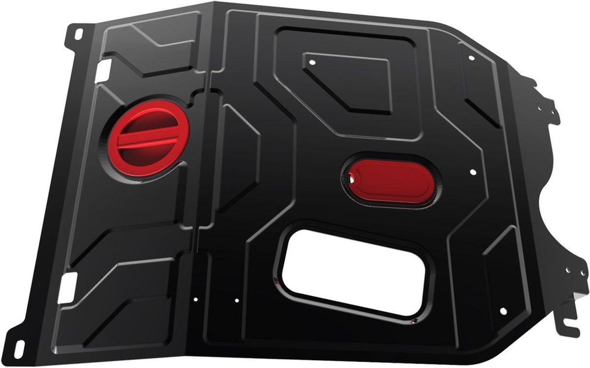 Защита картера и КПП Автоброня, для Daewoo Nexia. 111.01310.1111.01310.1Технологически совершенный продукт за невысокую стоимость. Защита разработана с учетом особенностей днища автомобиля, что позволяет сохранить дорожный просвет с минимальным изменением. Защита устанавливается в штатные места кузова автомобиля. Глубокий штамп обеспечивает до двух раз больше жесткости в сравнении с обычной защитой той же толщины. Проштампованные ребра жесткости препятствуют деформации защиты при ударах. Тепловой зазор и вентиляционные отверстия обеспечивают сохранение температурного режима двигателя в норме. Скрытый крепеж предотвращает срыв крепежных элементов при наезде на препятствие. Шумопоглощающие резиновые элементы обеспечивают комфортную езду без вибраций и скрежета металла, а съемные лючки для слива масла и замены фильтра - экономию средств и время. Конструкция изделия не влияет на пассивную безопасность автомобиля (при ударе защита не воздействует на деформационные зоны кузова). Со штатным крепежом. В комплекте инструкция по...