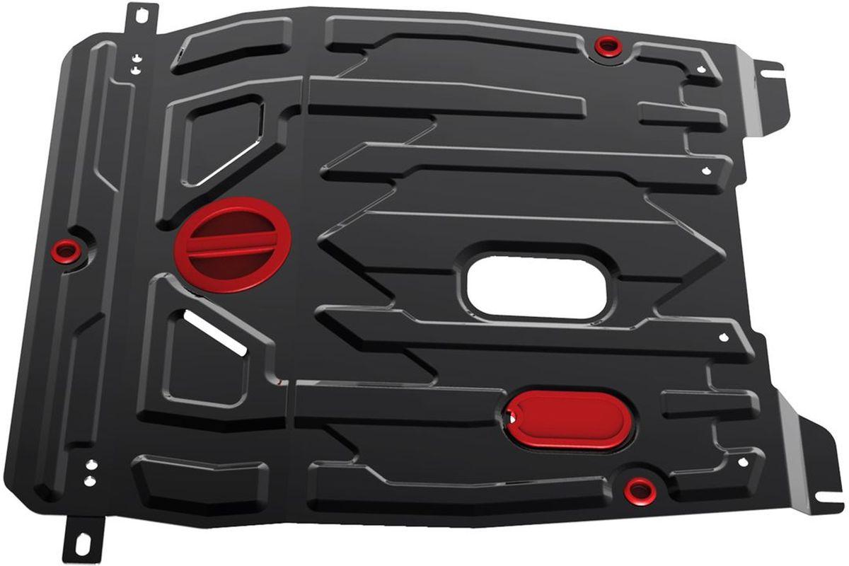Защита картера и КПП Автоброня, для Daewoo Gentra. 111.01312.1111.01312.1Технологически совершенный продукт за невысокую стоимость. Защита разработана с учетом особенностей днища автомобиля, что позволяет сохранить дорожный просвет с минимальным изменением. Защита устанавливается в штатные места кузова автомобиля. Глубокий штамп обеспечивает до двух раз больше жесткости в сравнении с обычной защитой той же толщины. Проштампованные ребра жесткости препятствуют деформации защиты при ударах. Тепловой зазор и вентиляционные отверстия обеспечивают сохранение температурного режима двигателя в норме. Скрытый крепеж предотвращает срыв крепежных элементов при наезде на препятствие. Шумопоглощающие резиновые элементы обеспечивают комфортную езду без вибраций и скрежета металла, а съемные лючки для слива масла и замены фильтра - экономию средств и время. Конструкция изделия не влияет на пассивную безопасность автомобиля (при ударе защита не воздействует на деформационные зоны кузова). Со штатным крепежом. В комплекте инструкция по...