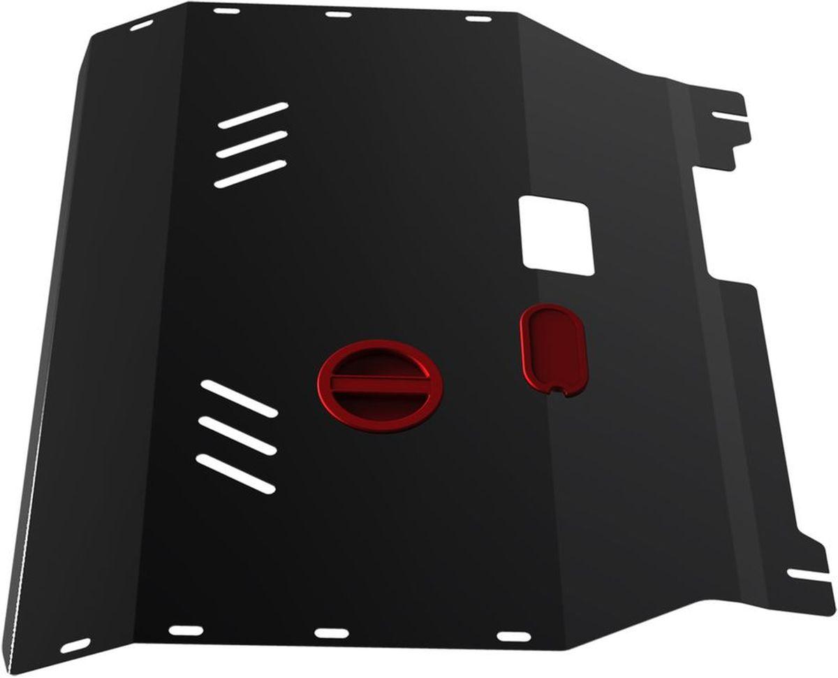 Защита картера и КПП Автоброня, для Ford Transit. 111.01833.1111.01833.1Технологически совершенный продукт за невысокую стоимость. Защита разработана с учетом особенностей днища автомобиля, что позволяет сохранить дорожный просвет с минимальным изменением. Защита устанавливается в штатные места кузова автомобиля. Глубокий штамп обеспечивает до двух раз больше жесткости в сравнении с обычной защитой той же толщины. Проштампованные ребра жесткости препятствуют деформации защиты при ударах. Тепловой зазор и вентиляционные отверстия обеспечивают сохранение температурного режима двигателя в норме. Скрытый крепеж предотвращает срыв крепежных элементов при наезде на препятствие. Шумопоглощающие резиновые элементы обеспечивают комфортную езду без вибраций и скрежета металла, а съемные лючки для слива масла и замены фильтра - экономию средств и время. Конструкция изделия не влияет на пассивную безопасность автомобиля (при ударе защита не воздействует на деформационные зоны кузова). Со штатным крепежом. В комплекте инструкция по...