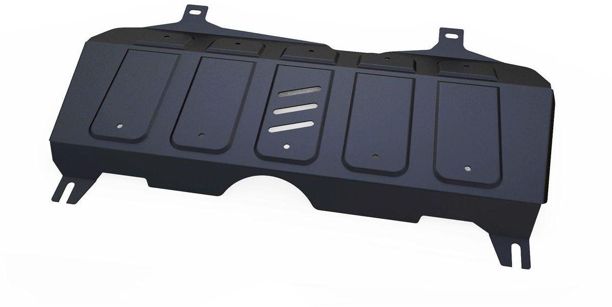 Защита картера и КПП Автоброня, для Geely Emgrand X7. 111.01913.1111.01913.1Технологически совершенный продукт за невысокую стоимость. Защита разработана с учетом особенностей днища автомобиля, что позволяет сохранить дорожный просвет с минимальным изменением. Защита устанавливается в штатные места кузова автомобиля. Глубокий штамп обеспечивает до двух раз больше жесткости в сравнении с обычной защитой той же толщины. Проштампованные ребра жесткости препятствуют деформации защиты при ударах. Тепловой зазор и вентиляционные отверстия обеспечивают сохранение температурного режима двигателя в норме. Скрытый крепеж предотвращает срыв крепежных элементов при наезде на препятствие. Шумопоглощающие резиновые элементы обеспечивают комфортную езду без вибраций и скрежета металла, а съемные лючки для слива масла и замены фильтра - экономию средств и время. Конструкция изделия не влияет на пассивную безопасность автомобиля (при ударе защита не воздействует на деформационные зоны кузова). Со штатным крепежом. В комплекте инструкция по...