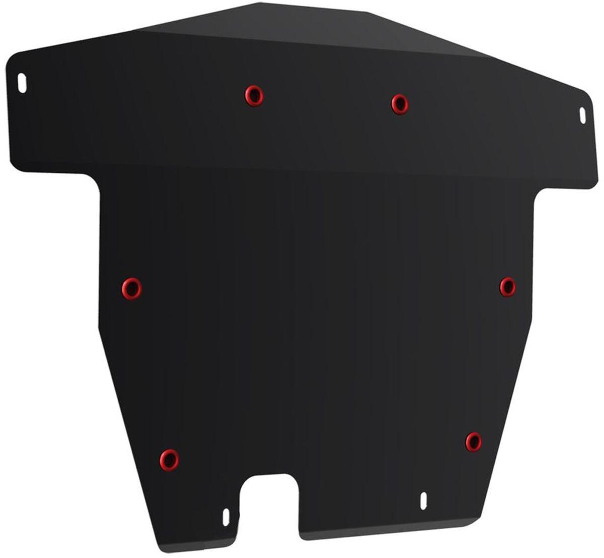 Защита картера и КПП Автоброня, для Honda Accord VII. 111.02117.1111.02117.1Технологически совершенный продукт за невысокую стоимость. Защита разработана с учетом особенностей днища автомобиля, что позволяет сохранить дорожный просвет с минимальным изменением. Защита устанавливается в штатные места кузова автомобиля. Глубокий штамп обеспечивает до двух раз больше жесткости в сравнении с обычной защитой той же толщины. Проштампованные ребра жесткости препятствуют деформации защиты при ударах. Тепловой зазор и вентиляционные отверстия обеспечивают сохранение температурного режима двигателя в норме. Скрытый крепеж предотвращает срыв крепежных элементов при наезде на препятствие. Шумопоглощающие резиновые элементы обеспечивают комфортную езду без вибраций и скрежета металла, а съемные лючки для слива масла и замены фильтра - экономию средств и время. Конструкция изделия не влияет на пассивную безопасность автомобиля (при ударе защита не воздействует на деформационные зоны кузова). Со штатным крепежом. В комплекте инструкция по...