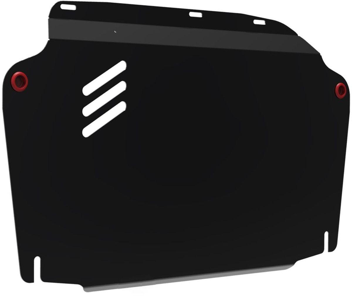 Защита картера и КПП Автоброня, для Hyundai Elantra/i30/Kia Ceed/Cerato. 111.02302.2111.02302.2Технологически совершенный продукт за невысокую стоимость. Защита разработана с учетом особенностей днища автомобиля, что позволяет сохранить дорожный просвет с минимальным изменением. Защита устанавливается в штатные места кузова автомобиля. Глубокий штамп обеспечивает до двух раз больше жесткости в сравнении с обычной защитой той же толщины. Проштампованные ребра жесткости препятствуют деформации защиты при ударах. Тепловой зазор и вентиляционные отверстия обеспечивают сохранение температурного режима двигателя в норме. Скрытый крепеж предотвращает срыв крепежных элементов при наезде на препятствие. Шумопоглощающие резиновые элементы обеспечивают комфортную езду без вибраций и скрежета металла, а съемные лючки для слива масла и замены фильтра - экономию средств и время. Конструкция изделия не влияет на пассивную безопасность автомобиля (при ударе защита не воздействует на деформационные зоны кузова). Со штатным крепежом. В комплекте инструкция по...