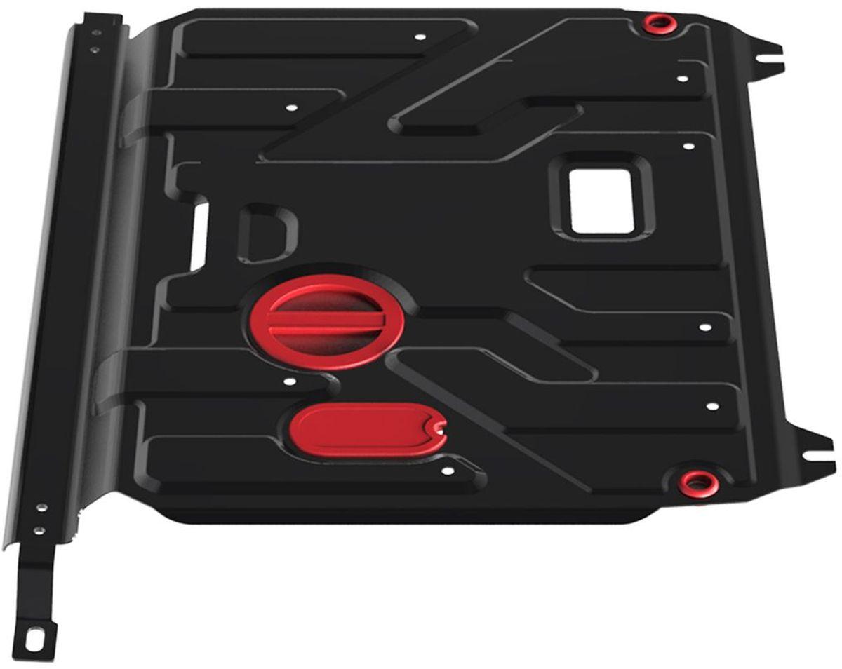 Защита картера и КПП Автоброня, для Hyundai Solaris V-1,4, 1,6 (2011-)/Kia Rio, V-все (2011-)111.02343.1Технологически совершенный продукт за невысокую стоимость. Защита разработана с учетом особенностей днища автомобиля, что позволяет сохранить дорожный просвет с минимальным изменением. Защита устанавливается в штатные места кузова автомобиля. Глубокий штамп обеспечивает до двух раз больше жесткости в сравнении с обычной защитой той же толщины. Проштампованные ребра жесткости препятствуют деформации защиты при ударах. Тепловой зазор и вентиляционные отверстия обеспечивают сохранение температурного режима двигателя в норме. Скрытый крепеж предотвращает срыв крепежных элементов при наезде на препятствие. Шумопоглощающие резиновые элементы обеспечивают комфортную езду без вибраций и скрежета металла, а съемные лючки для слива масла и замены фильтра - экономию средств и время. Конструкция изделия не влияет на пассивную безопасность автомобиля (при ударе защита не воздействует на деформационные зоны кузова). Со штатным крепежом. В комплекте инструкция по...