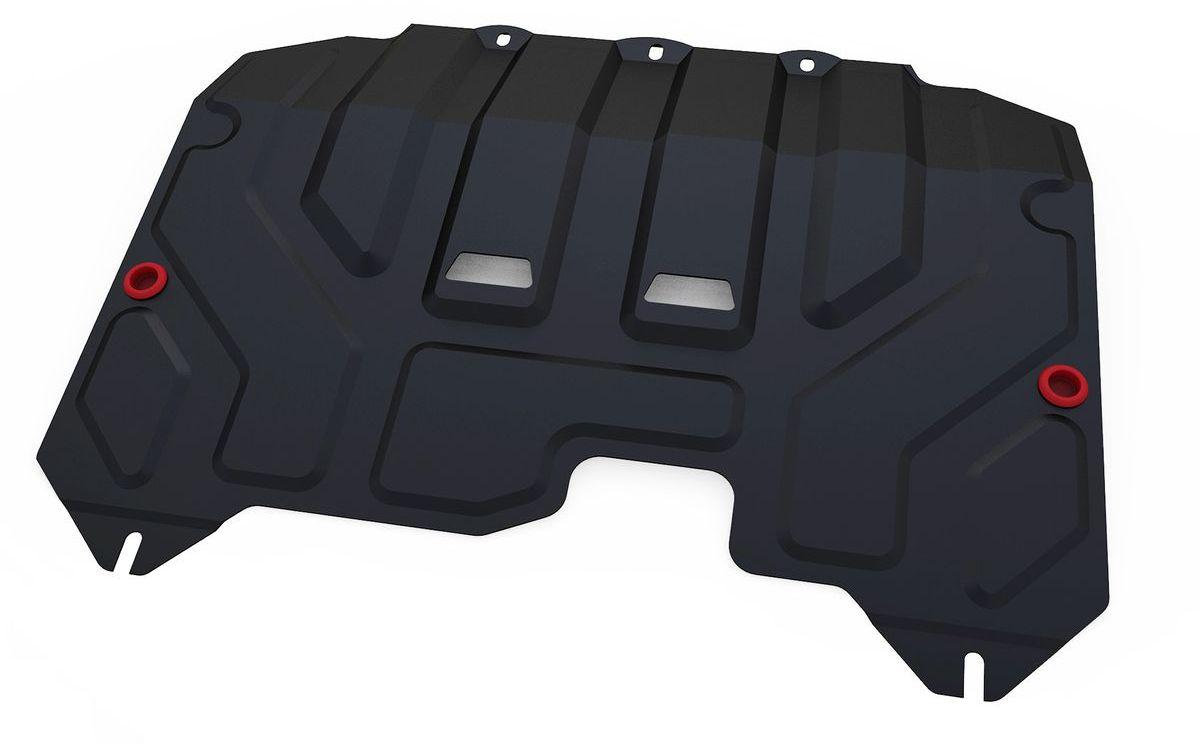 Защита картера и КПП Автоброня, для Hyundai ix35/Kia Sportage. 111.02352.1111.02352.1Технологически совершенный продукт за невысокую стоимость. Защита разработана с учетом особенностей днища автомобиля, что позволяет сохранить дорожный просвет с минимальным изменением. Защита устанавливается в штатные места кузова автомобиля. Глубокий штамп обеспечивает до двух раз больше жесткости в сравнении с обычной защитой той же толщины. Проштампованные ребра жесткости препятствуют деформации защиты при ударах. Тепловой зазор и вентиляционные отверстия обеспечивают сохранение температурного режима двигателя в норме. Скрытый крепеж предотвращает срыв крепежных элементов при наезде на препятствие. Шумопоглощающие резиновые элементы обеспечивают комфортную езду без вибраций и скрежета металла, а съемные лючки для слива масла и замены фильтра - экономию средств и время. Конструкция изделия не влияет на пассивную безопасность автомобиля (при ударе защита не воздействует на деформационные зоны кузова). Со штатным крепежом. В комплекте инструкция по...