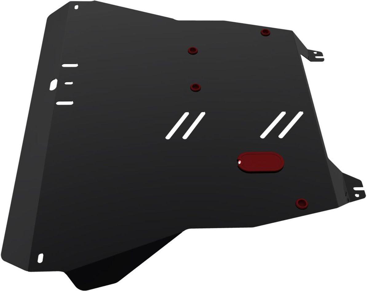 Защита картера и КПП Автоброня, для Kia Spectra. 111.02812.1111.02812.1Технологически совершенный продукт за невысокую стоимость. Защита разработана с учетом особенностей днища автомобиля, что позволяет сохранить дорожный просвет с минимальным изменением. Защита устанавливается в штатные места кузова автомобиля. Глубокий штамп обеспечивает до двух раз больше жесткости в сравнении с обычной защитой той же толщины. Проштампованные ребра жесткости препятствуют деформации защиты при ударах. Тепловой зазор и вентиляционные отверстия обеспечивают сохранение температурного режима двигателя в норме. Скрытый крепеж предотвращает срыв крепежных элементов при наезде на препятствие. Шумопоглощающие резиновые элементы обеспечивают комфортную езду без вибраций и скрежета металла, а съемные лючки для слива масла и замены фильтра - экономию средств и время. Конструкция изделия не влияет на пассивную безопасность автомобиля (при ударе защита не воздействует на деформационные зоны кузова). Со штатным крепежом. В комплекте инструкция по...