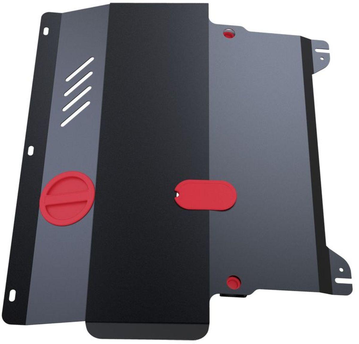 Защита картера и КПП Автоброня, для Mazda 2/Demio. 111.03801.2111.03801.2Технологически совершенный продукт за невысокую стоимость. Защита разработана с учетом особенностей днища автомобиля, что позволяет сохранить дорожный просвет с минимальным изменением. Защита устанавливается в штатные места кузова автомобиля. Глубокий штамп обеспечивает до двух раз больше жесткости в сравнении с обычной защитой той же толщины. Проштампованные ребра жесткости препятствуют деформации защиты при ударах. Тепловой зазор и вентиляционные отверстия обеспечивают сохранение температурного режима двигателя в норме. Скрытый крепеж предотвращает срыв крепежных элементов при наезде на препятствие. Шумопоглощающие резиновые элементы обеспечивают комфортную езду без вибраций и скрежета металла, а съемные лючки для слива масла и замены фильтра - экономию средств и время. Конструкция изделия не влияет на пассивную безопасность автомобиля (при ударе защита не воздействует на деформационные зоны кузова). Со штатным крепежом. В комплекте инструкция по...