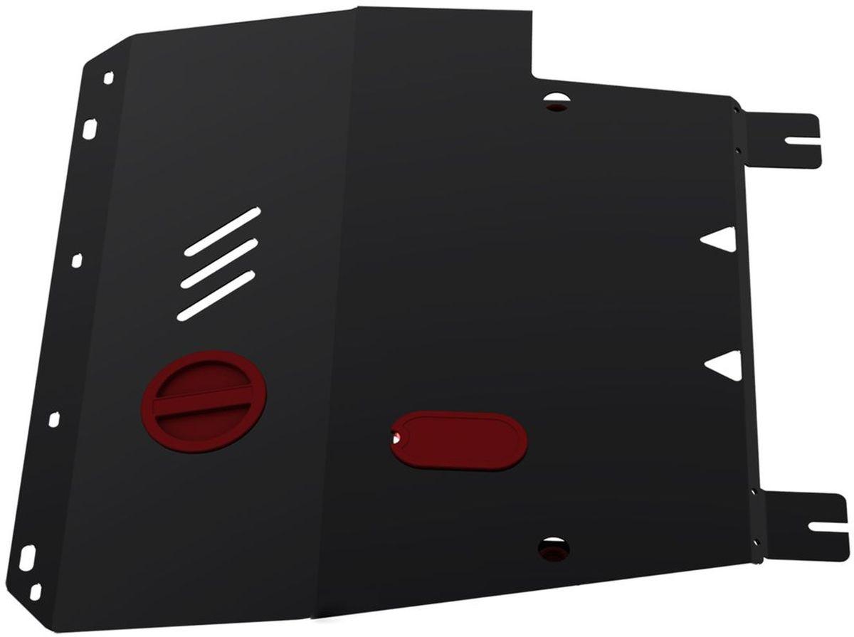 Защита картера и КПП Автоброня, для Nissan Tiida. 111.04113.3111.04113.3Технологически совершенный продукт за невысокую стоимость. Защита разработана с учетом особенностей днища автомобиля, что позволяет сохранить дорожный просвет с минимальным изменением. Защита устанавливается в штатные места кузова автомобиля. Глубокий штамп обеспечивает до двух раз больше жесткости в сравнении с обычной защитой той же толщины. Проштампованные ребра жесткости препятствуют деформации защиты при ударах. Тепловой зазор и вентиляционные отверстия обеспечивают сохранение температурного режима двигателя в норме. Скрытый крепеж предотвращает срыв крепежных элементов при наезде на препятствие. Шумопоглощающие резиновые элементы обеспечивают комфортную езду без вибраций и скрежета металла, а съемные лючки для слива масла и замены фильтра - экономию средств и время. Конструкция изделия не влияет на пассивную безопасность автомобиля (при ударе защита не воздействует на деформационные зоны кузова). Со штатным крепежом. В комплекте инструкция по...