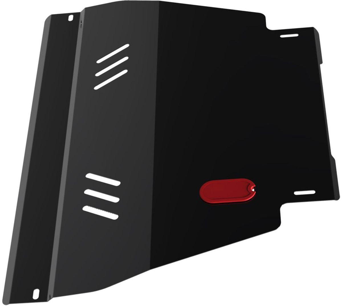 Защита картера и КПП Автоброня, для Nissan Ad Van/Almera N15/Primera P11/Sunny B14/Wingroad. 111.04129.1111.04129.1Технологически совершенный продукт за невысокую стоимость. Защита разработана с учетом особенностей днища автомобиля, что позволяет сохранить дорожный просвет с минимальным изменением. Защита устанавливается в штатные места кузова автомобиля. Глубокий штамп обеспечивает до двух раз больше жесткости в сравнении с обычной защитой той же толщины. Проштампованные ребра жесткости препятствуют деформации защиты при ударах. Тепловой зазор и вентиляционные отверстия обеспечивают сохранение температурного режима двигателя в норме. Скрытый крепеж предотвращает срыв крепежных элементов при наезде на препятствие. Шумопоглощающие резиновые элементы обеспечивают комфортную езду без вибраций и скрежета металла, а съемные лючки для слива масла и замены фильтра - экономию средств и время. Конструкция изделия не влияет на пассивную безопасность автомобиля (при ударе защита не воздействует на деформационные зоны кузова). Со штатным крепежом. В комплекте инструкция по...