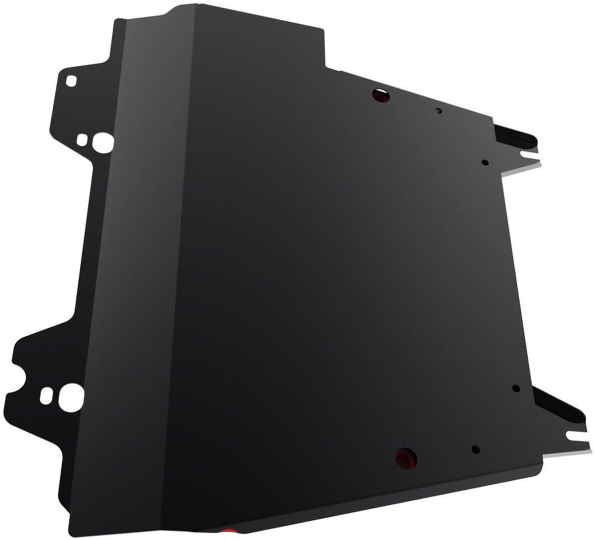 Защита картера и КПП Автоброня, для Nissan Note. 111.04146.1111.04146.1Технологически совершенный продукт за невысокую стоимость. Защита разработана с учетом особенностей днища автомобиля, что позволяет сохранить дорожный просвет с минимальным изменением. Защита устанавливается в штатные места кузова автомобиля. Глубокий штамп обеспечивает до двух раз больше жесткости в сравнении с обычной защитой той же толщины. Проштампованные ребра жесткости препятствуют деформации защиты при ударах. Тепловой зазор и вентиляционные отверстия обеспечивают сохранение температурного режима двигателя в норме. Скрытый крепеж предотвращает срыв крепежных элементов при наезде на препятствие. Шумопоглощающие резиновые элементы обеспечивают комфортную езду без вибраций и скрежета металла, а съемные лючки для слива масла и замены фильтра - экономию средств и время. Конструкция изделия не влияет на пассивную безопасность автомобиля (при ударе защита не воздействует на деформационные зоны кузова). Со штатным крепежом. В комплекте инструкция по...