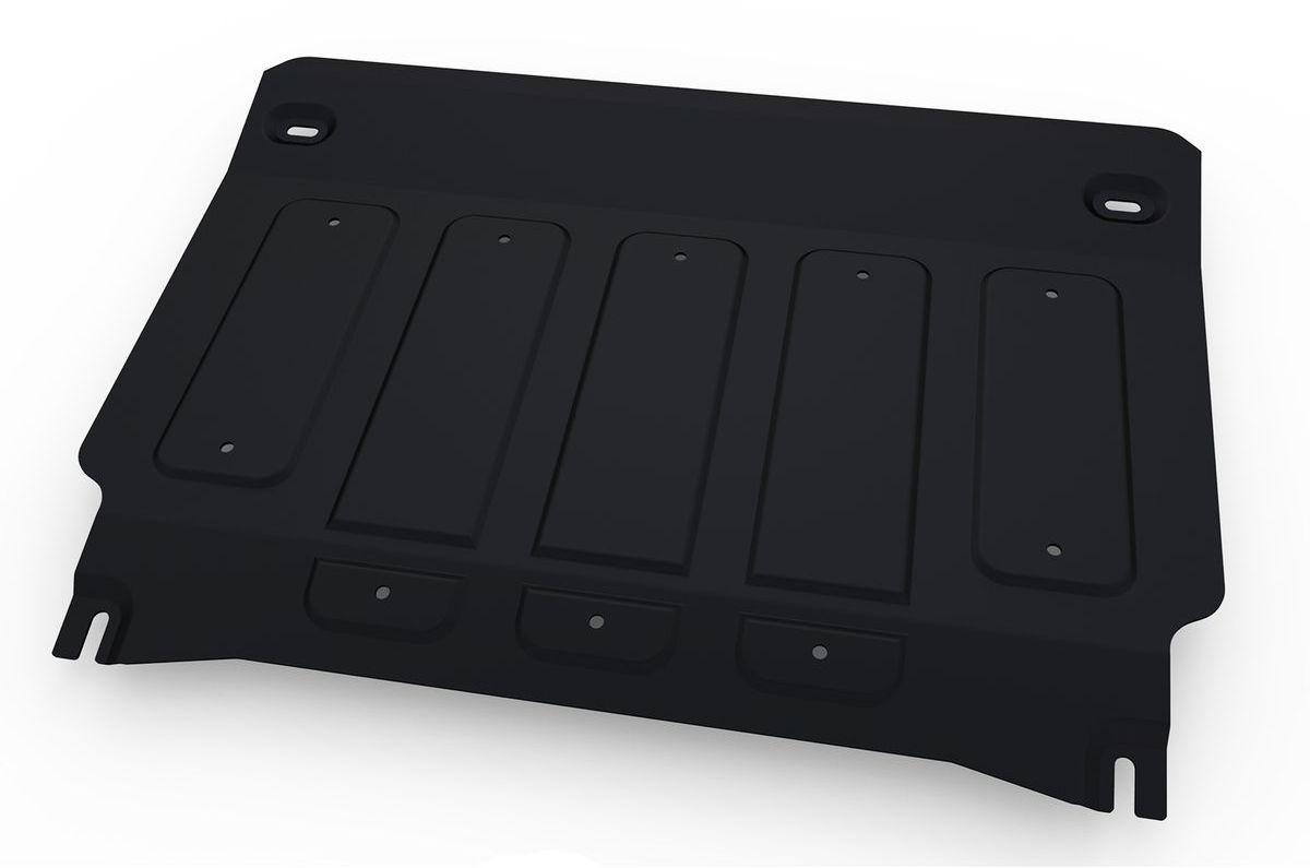 Защита картера и КПП Автоброня, для Nissan Qashqai. 111.04153.1111.04153.1Технологически совершенный продукт за невысокую стоимость. Защита разработана с учетом особенностей днища автомобиля, что позволяет сохранить дорожный просвет с минимальным изменением. Защита устанавливается в штатные места кузова автомобиля. Глубокий штамп обеспечивает до двух раз больше жесткости в сравнении с обычной защитой той же толщины. Проштампованные ребра жесткости препятствуют деформации защиты при ударах. Тепловой зазор и вентиляционные отверстия обеспечивают сохранение температурного режима двигателя в норме. Скрытый крепеж предотвращает срыв крепежных элементов при наезде на препятствие. Шумопоглощающие резиновые элементы обеспечивают комфортную езду без вибраций и скрежета металла, а съемные лючки для слива масла и замены фильтра - экономию средств и время. Конструкция изделия не влияет на пассивную безопасность автомобиля (при ударе защита не воздействует на деформационные зоны кузова). Со штатным крепежом. В комплекте инструкция по...