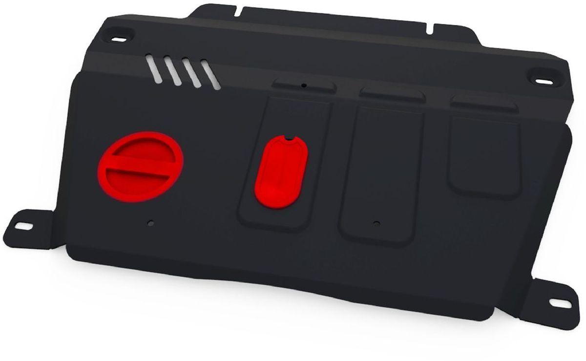 Защита картера и КПП Автоброня, для Chevrolet Captiva/Opel Antara. 111.04216.1111.04216.1Технологически совершенный продукт за невысокую стоимость. Защита разработана с учетом особенностей днища автомобиля, что позволяет сохранить дорожный просвет с минимальным изменением. Защита устанавливается в штатные места кузова автомобиля. Глубокий штамп обеспечивает до двух раз больше жесткости в сравнении с обычной защитой той же толщины. Проштампованные ребра жесткости препятствуют деформации защиты при ударах. Тепловой зазор и вентиляционные отверстия обеспечивают сохранение температурного режима двигателя в норме. Скрытый крепеж предотвращает срыв крепежных элементов при наезде на препятствие. Шумопоглощающие резиновые элементы обеспечивают комфортную езду без вибраций и скрежета металла, а съемные лючки для слива масла и замены фильтра - экономию средств и время. Конструкция изделия не влияет на пассивную безопасность автомобиля (при ударе защита не воздействует на деформационные зоны кузова). Со штатным крепежом. В комплекте инструкция по...
