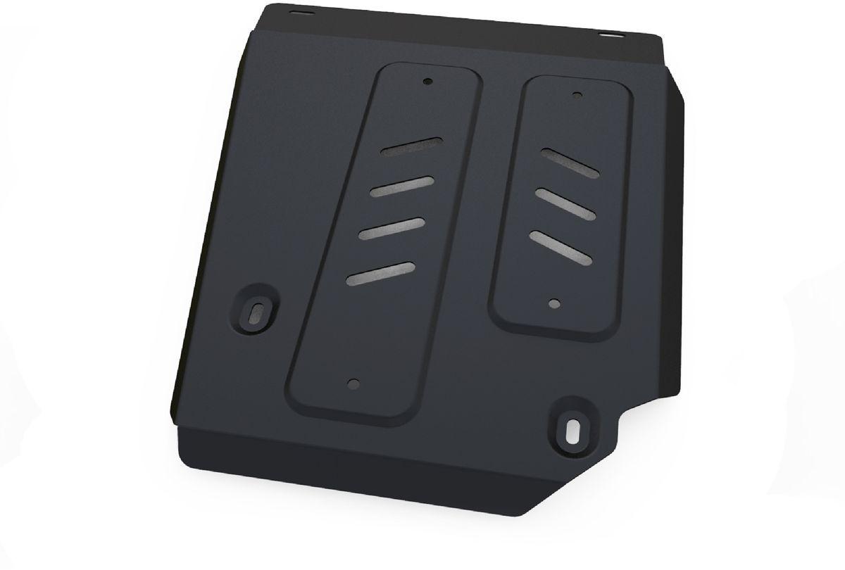 Защита топливного бака Автоброня, для Nissan Terrano/Renault Duster. 111.04718.1111.04718.1Технологически совершенный продукт за невысокую стоимость. Защита разработана с учетом особенностей днища автомобиля, что позволяет сохранить дорожный просвет с минимальным изменением. Защита устанавливается в штатные места кузова автомобиля. Глубокий штамп обеспечивает до двух раз больше жесткости в сравнении с обычной защитой той же толщины. Проштампованные ребра жесткости препятствуют деформации защиты при ударах. Тепловой зазор и вентиляционные отверстия обеспечивают сохранение температурного режима двигателя в норме. Скрытый крепеж предотвращает срыв крепежных элементов при наезде на препятствие. Шумопоглощающие резиновые элементы обеспечивают комфортную езду без вибраций и скрежета металла, а съемные лючки для слива масла и замены фильтра - экономию средств и время. Конструкция изделия не влияет на пассивную безопасность автомобиля (при ударе защита не воздействует на деформационные зоны кузова). Со штатным крепежом. В комплекте инструкция по...