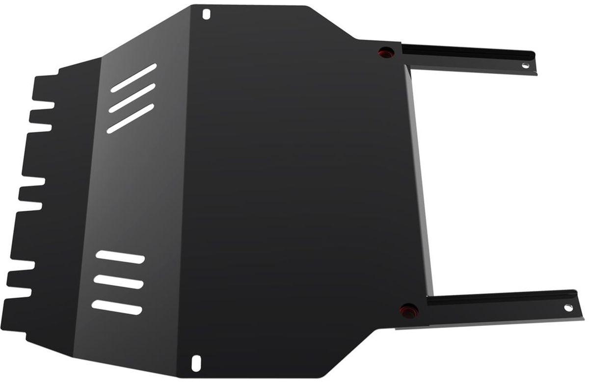 Защита картера и КПП Автоброня, для Skoda Octavia Tour. 111.05104.2111.05104.2Технологически совершенный продукт за невысокую стоимость. Защита разработана с учетом особенностей днища автомобиля, что позволяет сохранить дорожный просвет с минимальным изменением. Защита устанавливается в штатные места кузова автомобиля. Глубокий штамп обеспечивает до двух раз больше жесткости в сравнении с обычной защитой той же толщины. Проштампованные ребра жесткости препятствуют деформации защиты при ударах. Тепловой зазор и вентиляционные отверстия обеспечивают сохранение температурного режима двигателя в норме. Скрытый крепеж предотвращает срыв крепежных элементов при наезде на препятствие. Шумопоглощающие резиновые элементы обеспечивают комфортную езду без вибраций и скрежета металла, а съемные лючки для слива масла и замены фильтра - экономию средств и время. Конструкция изделия не влияет на пассивную безопасность автомобиля (при ударе защита не воздействует на деформационные зоны кузова). Со штатным крепежом. В комплекте инструкция по...