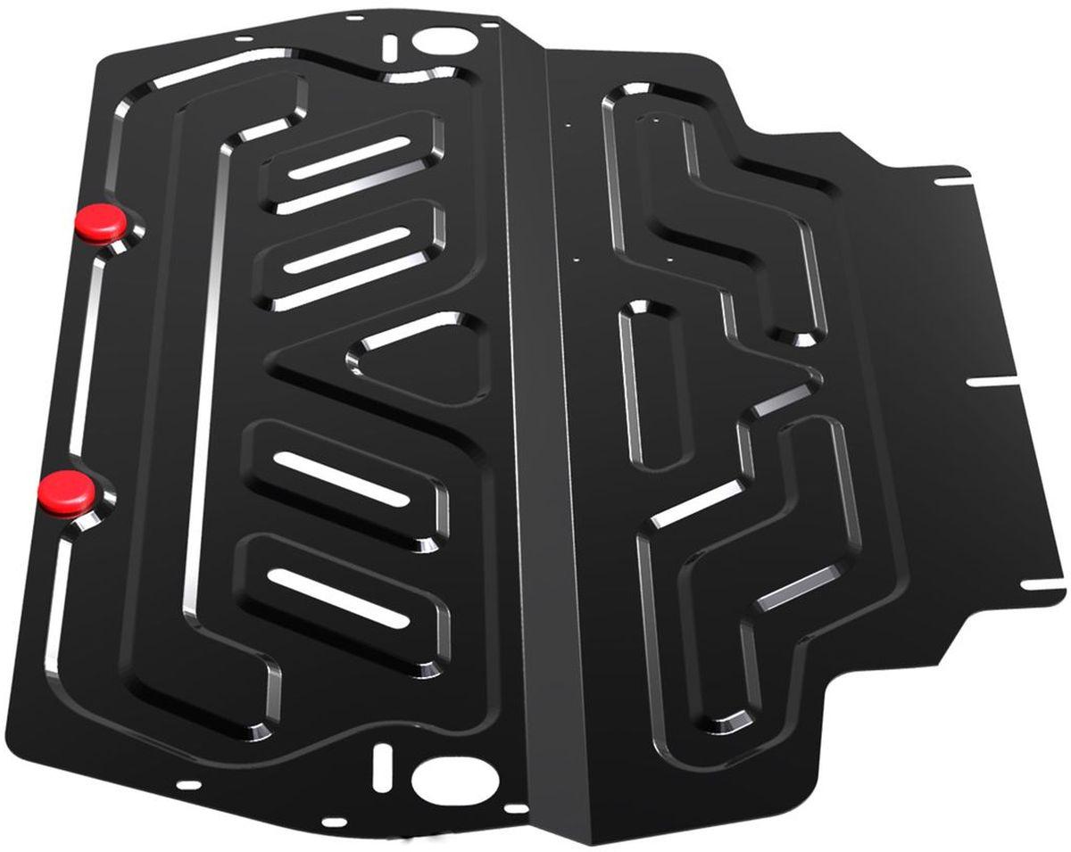 Защита картера и КПП Автоброня, для Skoda/VW/Seat111.05107.1Технологически совершенный продукт за невысокую стоимость. Защита разработана с учетом особенностей днища автомобиля, что позволяет сохранить дорожный просвет с минимальным изменением. Защита устанавливается в штатные места кузова автомобиля. Глубокий штамп обеспечивает до двух раз больше жесткости в сравнении с обычной защитой той же толщины. Проштампованные ребра жесткости препятствуют деформации защиты при ударах. Тепловой зазор и вентиляционные отверстия обеспечивают сохранение температурного режима двигателя в норме. Скрытый крепеж предотвращает срыв крепежных элементов при наезде на препятствие. Шумопоглощающие резиновые элементы обеспечивают комфортную езду без вибраций и скрежета металла, а съемные лючки для слива масла и замены фильтра - экономию средств и время. Конструкция изделия не влияет на пассивную безопасность автомобиля (при ударе защита не воздействует на деформационные зоны кузова). Со штатным крепежом. В комплекте инструкция по...