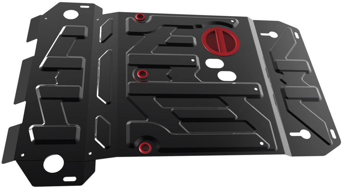 Защита картера и КПП Автоброня, для Suzuki Grand Vitara. 111.05501.5111.05501.5Технологически совершенный продукт за невысокую стоимость. Защита разработана с учетом особенностей днища автомобиля, что позволяет сохранить дорожный просвет с минимальным изменением. Защита устанавливается в штатные места кузова автомобиля. Глубокий штамп обеспечивает до двух раз больше жесткости в сравнении с обычной защитой той же толщины. Проштампованные ребра жесткости препятствуют деформации защиты при ударах. Тепловой зазор и вентиляционные отверстия обеспечивают сохранение температурного режима двигателя в норме. Скрытый крепеж предотвращает срыв крепежных элементов при наезде на препятствие. Шумопоглощающие резиновые элементы обеспечивают комфортную езду без вибраций и скрежета металла, а съемные лючки для слива масла и замены фильтра - экономию средств и время. Конструкция изделия не влияет на пассивную безопасность автомобиля (при ударе защита не воздействует на деформационные зоны кузова). Со штатным крепежом. В комплекте инструкция по...