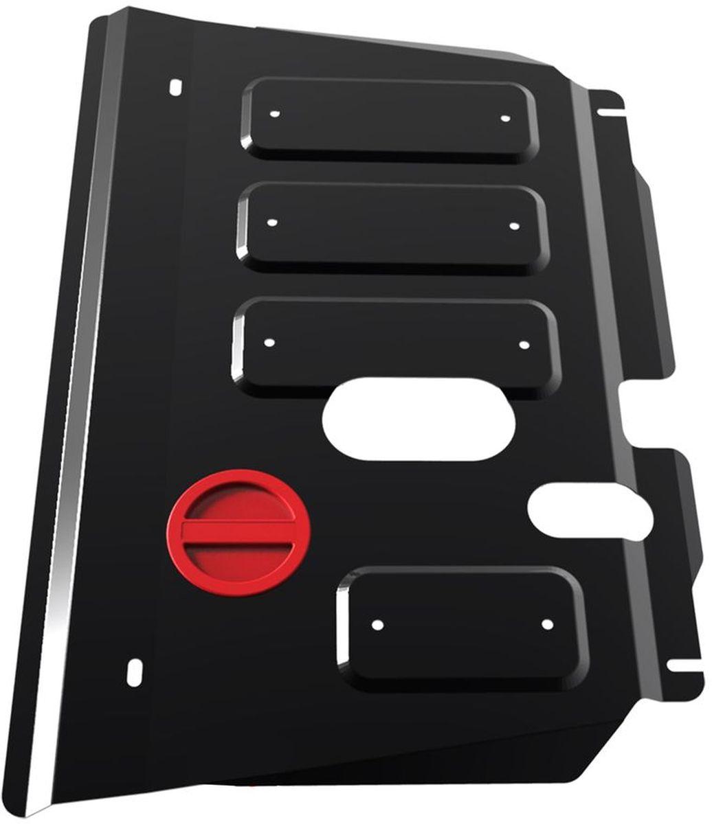 Защита картера и КПП Автоброня, для Toyota Ractis/Yaris. 111.05707.1111.05707.1Технологически совершенный продукт за невысокую стоимость. Защита разработана с учетом особенностей днища автомобиля, что позволяет сохранить дорожный просвет с минимальным изменением. Защита устанавливается в штатные места кузова автомобиля. Глубокий штамп обеспечивает до двух раз больше жесткости в сравнении с обычной защитой той же толщины. Проштампованные ребра жесткости препятствуют деформации защиты при ударах. Тепловой зазор и вентиляционные отверстия обеспечивают сохранение температурного режима двигателя в норме. Скрытый крепеж предотвращает срыв крепежных элементов при наезде на препятствие. Шумопоглощающие резиновые элементы обеспечивают комфортную езду без вибраций и скрежета металла, а съемные лючки для слива масла и замены фильтра - экономию средств и время. Конструкция изделия не влияет на пассивную безопасность автомобиля (при ударе защита не воздействует на деформационные зоны кузова). Со штатным крепежом. В комплекте инструкция по...