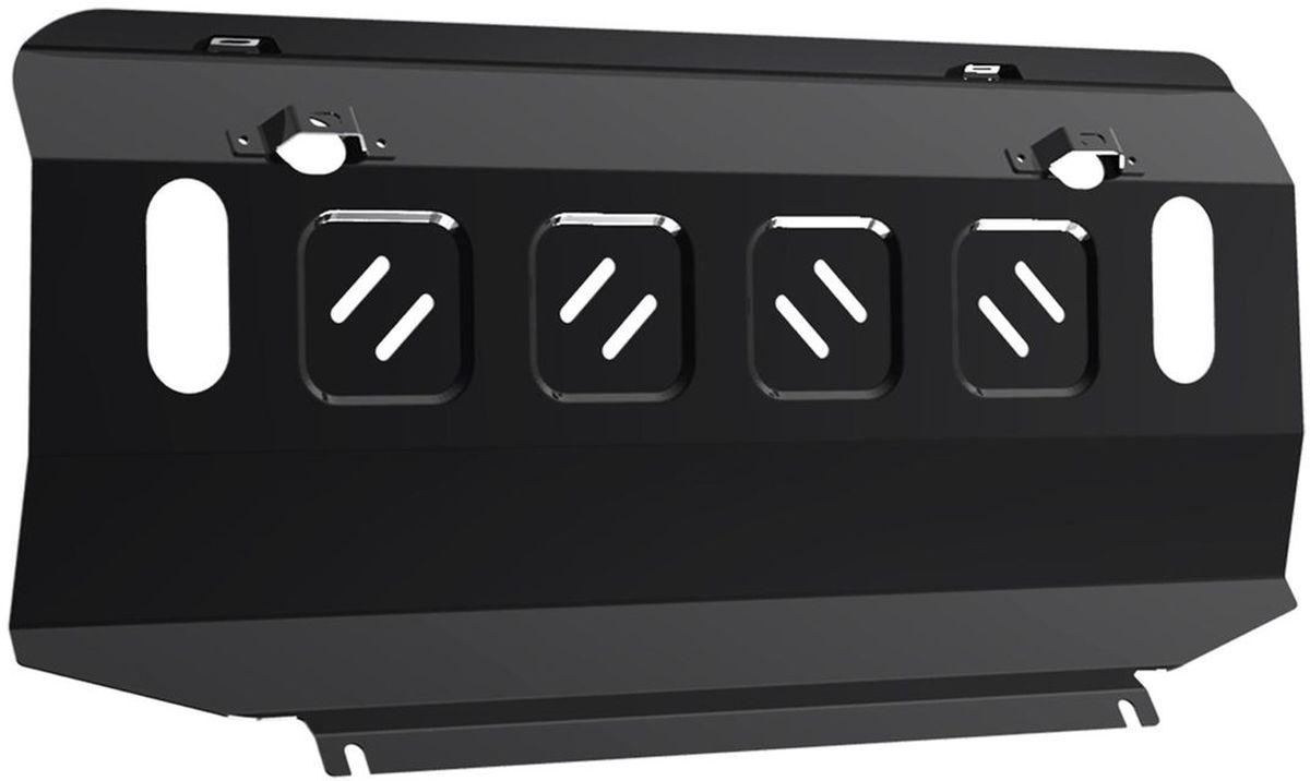 Защита радиатора Автоброня, для Toyota LC90(1996-1999;1999-2002)/Hilux Surf(1995-1997;1997-2002)111.05737.1Технологически совершенный продукт за невысокую стоимость. Защита разработана с учетом особенностей днища автомобиля, что позволяет сохранить дорожный просвет с минимальным изменением. Защита устанавливается в штатные места кузова автомобиля. Глубокий штамп обеспечивает до двух раз больше жесткости в сравнении с обычной защитой той же толщины. Проштампованные ребра жесткости препятствуют деформации защиты при ударах. Тепловой зазор и вентиляционные отверстия обеспечивают сохранение температурного режима двигателя в норме. Скрытый крепеж предотвращает срыв крепежных элементов при наезде на препятствие. Шумопоглощающие резиновые элементы обеспечивают комфортную езду без вибраций и скрежета металла, а съемные лючки для слива масла и замены фильтра - экономию средств и время. Конструкция изделия не влияет на пассивную безопасность автомобиля (при ударе защита не воздействует на деформационные зоны кузова). Со штатным крепежом. В комплекте инструкция по установке....