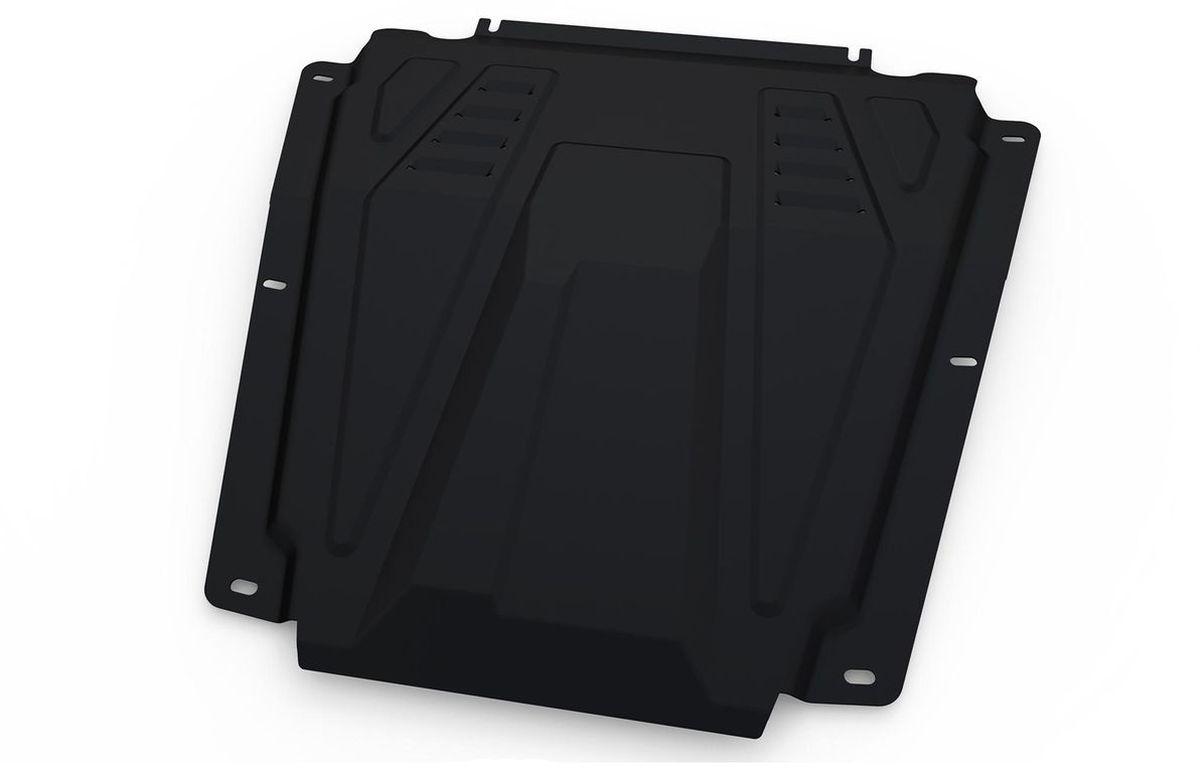 Защита редуктора Автоброня, для Toyota RAV4 4WD CVTV - 2,0; 2,5; 2,2D (2013-2015; 2015-)111.05778.1Технологически совершенный продукт за невысокую стоимость. Защита разработана с учетом особенностей днища автомобиля, что позволяет сохранить дорожный просвет с минимальным изменением. Защита устанавливается в штатные места кузова автомобиля. Глубокий штамп обеспечивает до двух раз больше жесткости в сравнении с обычной защитой той же толщины. Проштампованные ребра жесткости препятствуют деформации защиты при ударах. Тепловой зазор и вентиляционные отверстия обеспечивают сохранение температурного режима двигателя в норме. Скрытый крепеж предотвращает срыв крепежных элементов при наезде на препятствие. Шумопоглощающие резиновые элементы обеспечивают комфортную езду без вибраций и скрежета металла, а съемные лючки для слива масла и замены фильтра - экономию средств и время. Конструкция изделия не влияет на пассивную безопасность автомобиля (при ударе защита не воздействует на деформационные зоны кузова). Со штатным крепежом. В комплекте инструкция по установке....