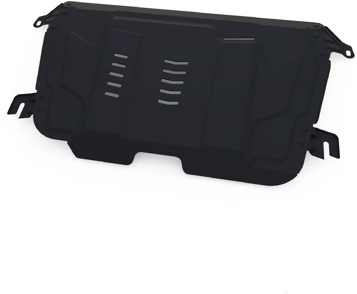 Защита картера и КПП Автоброня, для Lexus ES 250/ES 350/RX270/Toyota Camry/Highlander/Venza. 111.05797.1111.05797.1Технологически совершенный продукт за невысокую стоимость. Защита разработана с учетом особенностей днища автомобиля, что позволяет сохранить дорожный просвет с минимальным изменением. Защита устанавливается в штатные места кузова автомобиля. Глубокий штамп обеспечивает до двух раз больше жесткости в сравнении с обычной защитой той же толщины. Проштампованные ребра жесткости препятствуют деформации защиты при ударах. Тепловой зазор и вентиляционные отверстия обеспечивают сохранение температурного режима двигателя в норме. Скрытый крепеж предотвращает срыв крепежных элементов при наезде на препятствие. Шумопоглощающие резиновые элементы обеспечивают комфортную езду без вибраций и скрежета металла, а съемные лючки для слива масла и замены фильтра - экономию средств и время. Конструкция изделия не влияет на пассивную безопасность автомобиля (при ударе защита не воздействует на деформационные зоны кузова). Со штатным крепежом. В комплекте инструкция по...