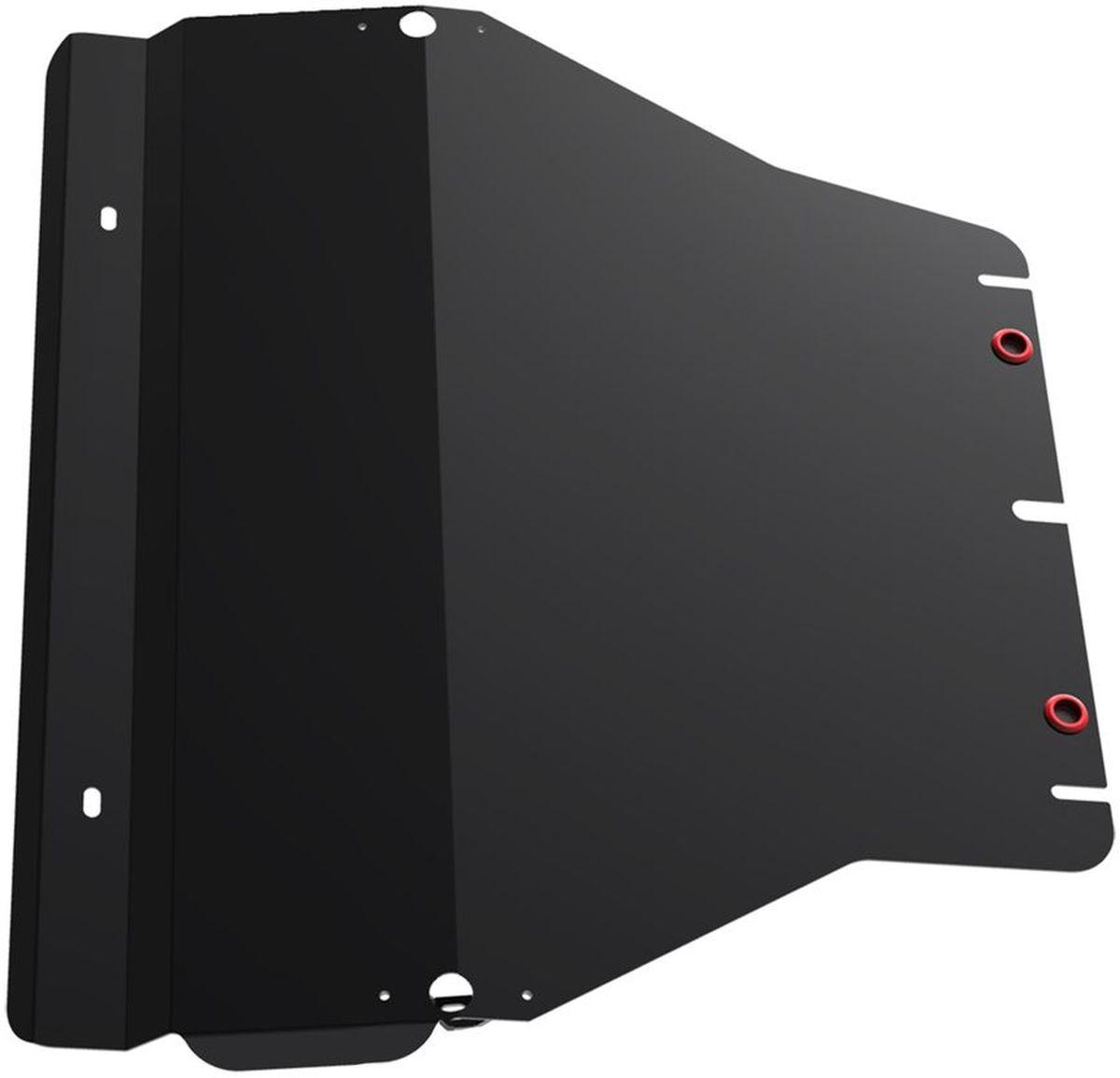Защита картера и КПП Автоброня, для Volkswagen Caravelle/Multivan/Transporter T5. 111.05806.1111.05806.1Технологически совершенный продукт за невысокую стоимость. Защита разработана с учетом особенностей днища автомобиля, что позволяет сохранить дорожный просвет с минимальным изменением. Защита устанавливается в штатные места кузова автомобиля. Глубокий штамп обеспечивает до двух раз больше жесткости в сравнении с обычной защитой той же толщины. Проштампованные ребра жесткости препятствуют деформации защиты при ударах. Тепловой зазор и вентиляционные отверстия обеспечивают сохранение температурного режима двигателя в норме. Скрытый крепеж предотвращает срыв крепежных элементов при наезде на препятствие. Шумопоглощающие резиновые элементы обеспечивают комфортную езду без вибраций и скрежета металла, а съемные лючки для слива масла и замены фильтра - экономию средств и время. Конструкция изделия не влияет на пассивную безопасность автомобиля (при ударе защита не воздействует на деформационные зоны кузова). Со штатным крепежом. В комплекте инструкция по...