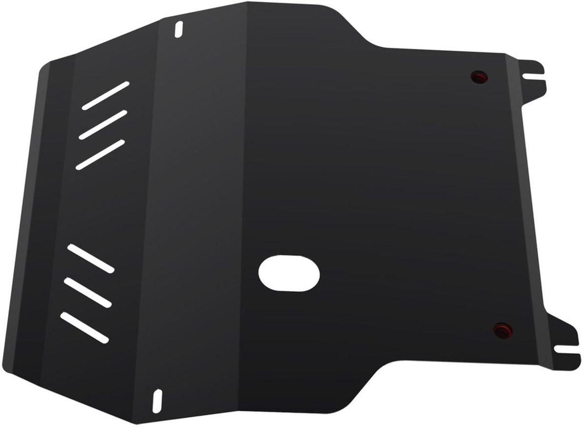 Защита картера и КПП Автоброня, для Seat Leon/VW Bora/Golf IV/New Beetle111.05823.1Технологически совершенный продукт за невысокую стоимость. Защита разработана с учетом особенностей днища автомобиля, что позволяет сохранить дорожный просвет с минимальным изменением. Защита устанавливается в штатные места кузова автомобиля. Глубокий штамп обеспечивает до двух раз больше жесткости в сравнении с обычной защитой той же толщины. Проштампованные ребра жесткости препятствуют деформации защиты при ударах. Тепловой зазор и вентиляционные отверстия обеспечивают сохранение температурного режима двигателя в норме. Скрытый крепеж предотвращает срыв крепежных элементов при наезде на препятствие. Шумопоглощающие резиновые элементы обеспечивают комфортную езду без вибраций и скрежета металла, а съемные лючки для слива масла и замены фильтра - экономию средств и время. Конструкция изделия не влияет на пассивную безопасность автомобиля (при ударе защита не воздействует на деформационные зоны кузова). Со штатным крепежом. В комплекте инструкция по...