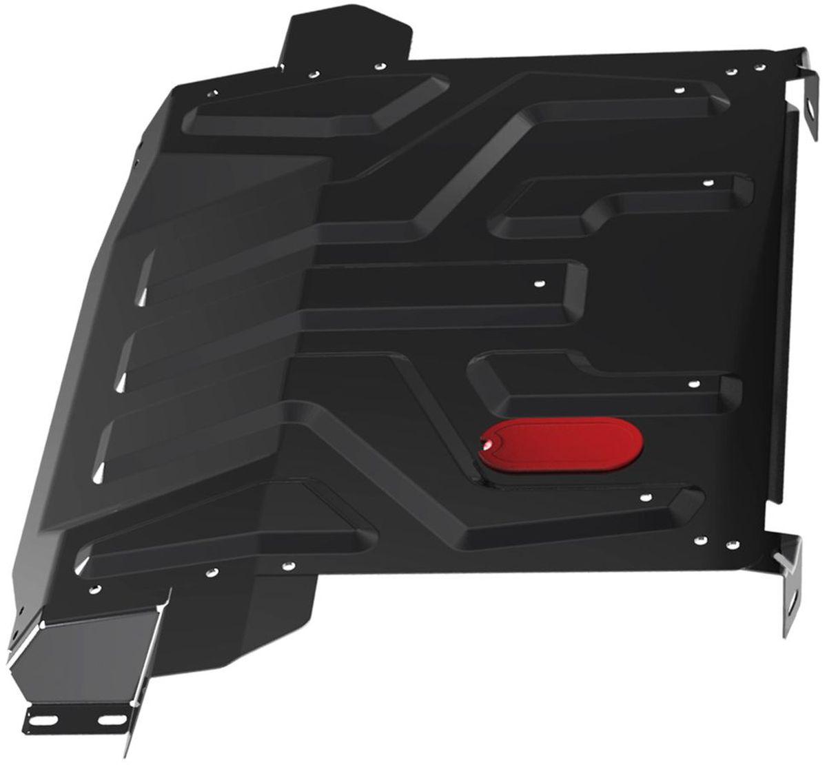 Защита картера и КПП Автоброня, для Lada 2110/2170 Priora. 111.06019.1