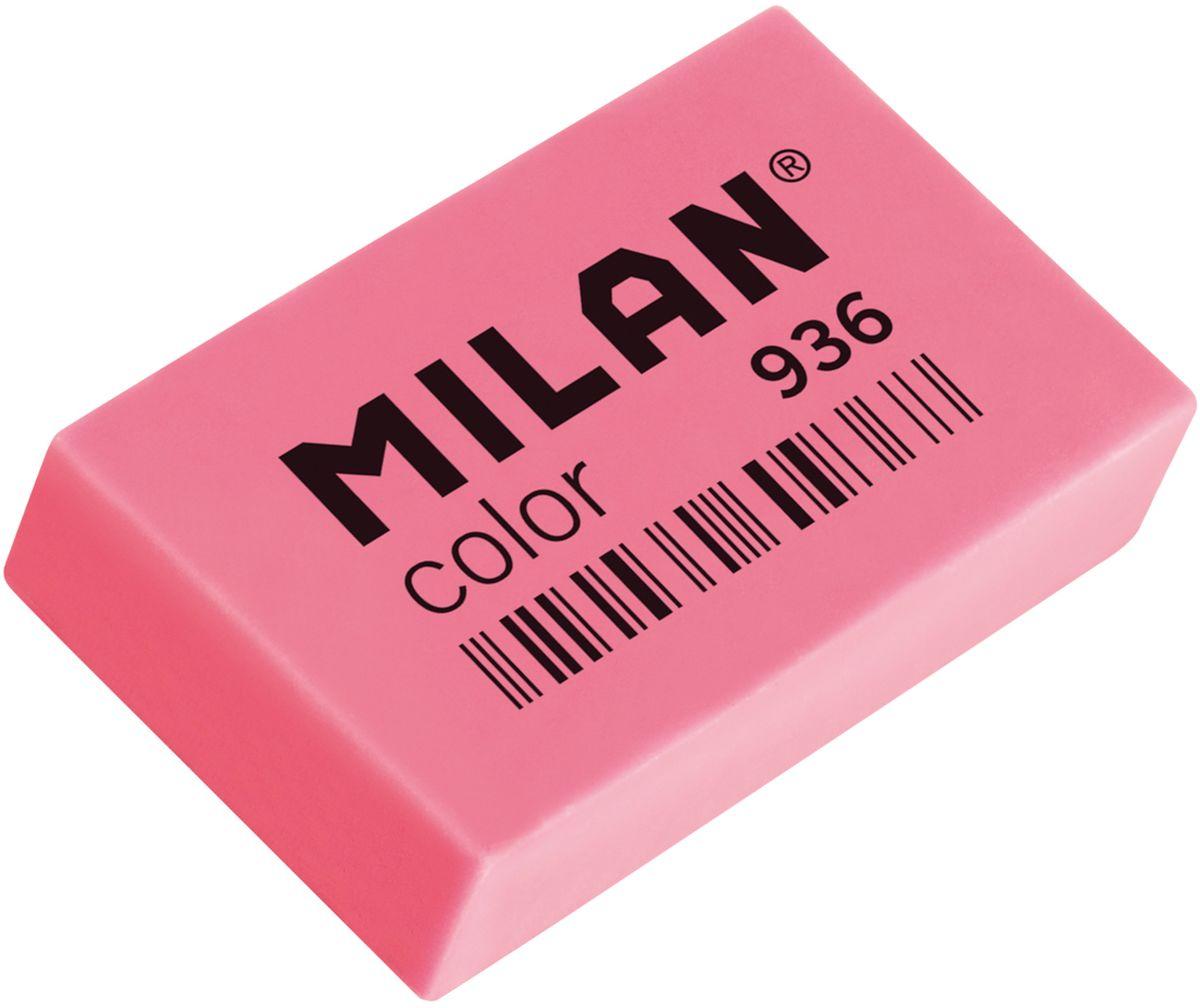 Milan Ластик Color 936 прямоугольный цвет розовый