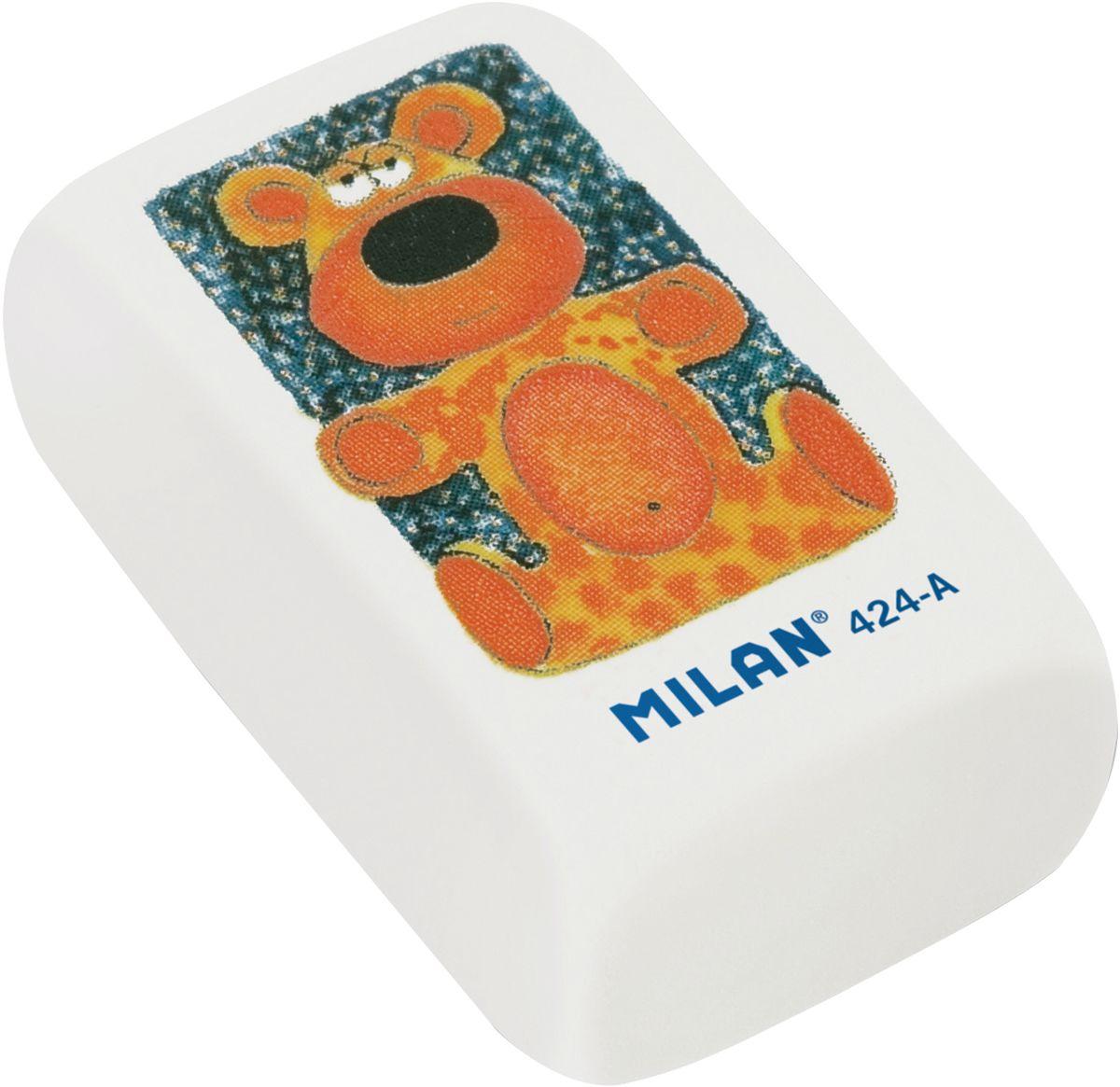 Milan Ластик 424-АCMM424AФирменный дизайн ластика от Milan с изображением веселых анимационных персонажей. Мягкая структура и высокое качество. Великолепное абсорбирующее свойства, бережное отношение к поверхности бумаги. Уважаемые клиенты! Обращаем ваше внимание, что цвет упаковки товара может отличаться.