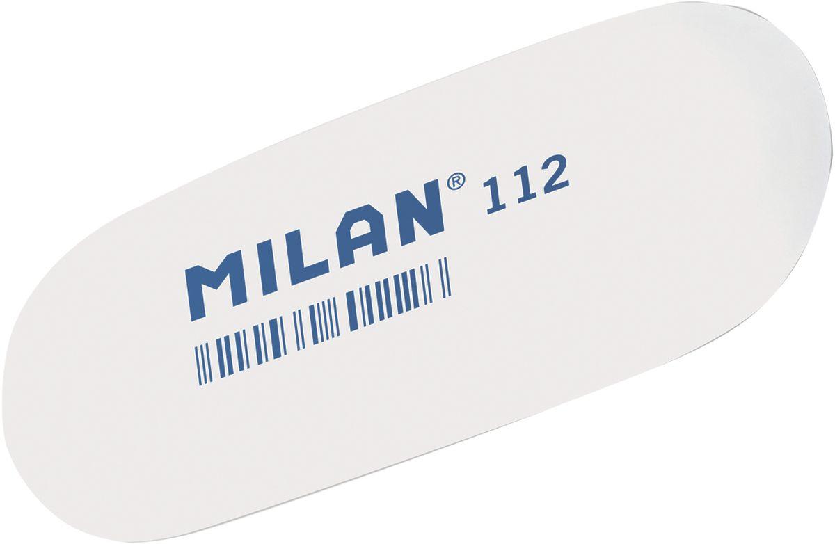 Milan Ластик 112 цвет белыйCMM112Ластик Milan овальной формы подходит для работы с очень мягкими карандашами и со специальными видами карандашей. Ластик хорошо подходит для создания свето-теневых эффектов в портретных работах.
