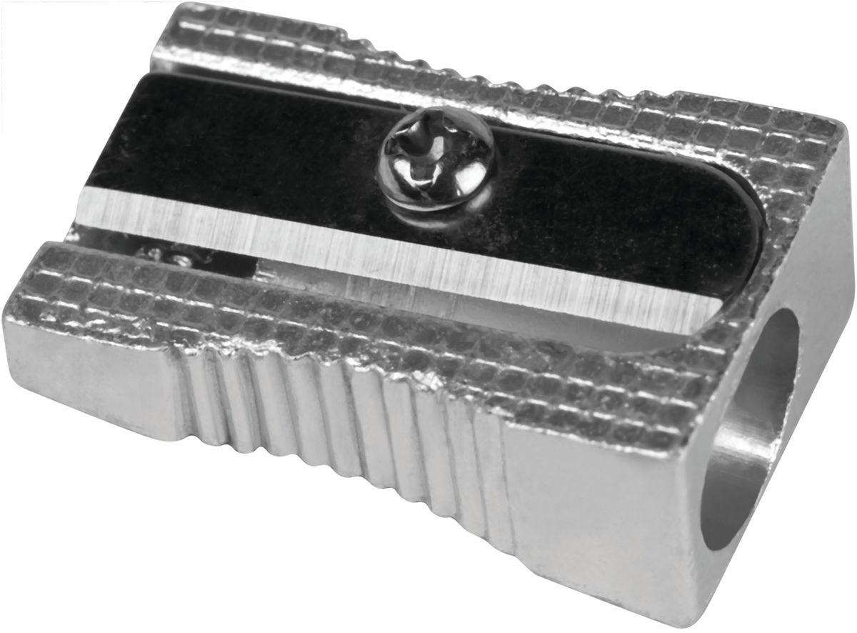 Milan Точилка 8003380033Надежная и простая в использовании металлическая точилка Milan с одним отверстием для стандартных карандашей без контейнера для сборки стружки. Долговечная. Имеет удобную рифленую зону обхвата.
