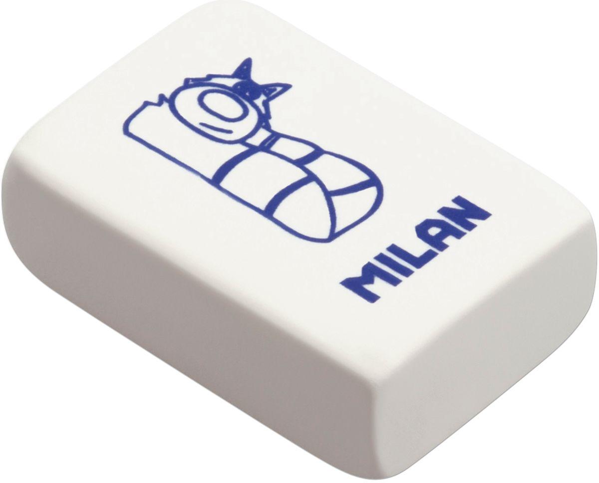 Milan Ластик 4060 цвет белыйCNM4060Ластик Milan изготовлен из натурального каучука с добавлением абразивных веществ. Подходит для работы с твердыми грифелями. Имеет мягкую форму. Ластик обеспечивает высокое качество коррекции и не повреждает поверхность бумаги.