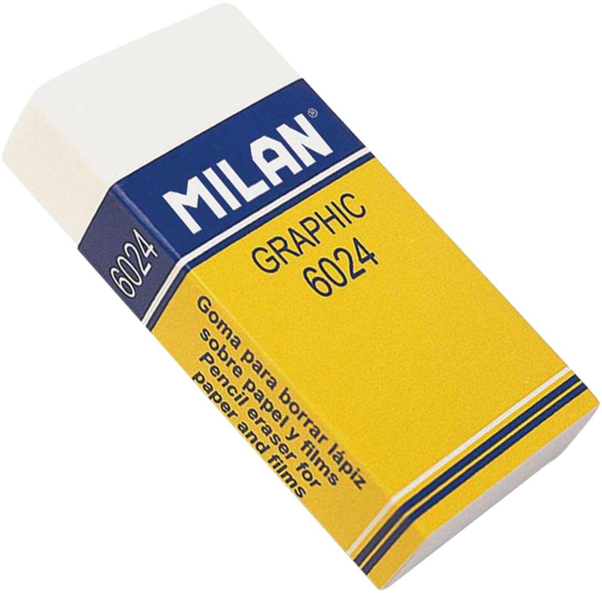 Milan Ластик Graphic 6024 прямоугольный