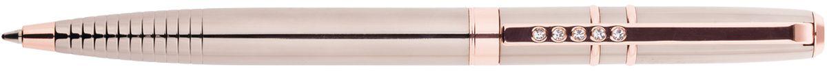 Delucci Ручка шариковая цвет корпуса темно-серый золотистый CPs_11227CPs_11227Подарочная ручка Delucci сочетает в себе изысканный дизайн и современные технологии. Цвет корпуса и отделка темно-серого и золотистого цветов. Оригинальное рифление на корпусе, кристалл на клипе. Диаметр пишущего узла - 1 мм.