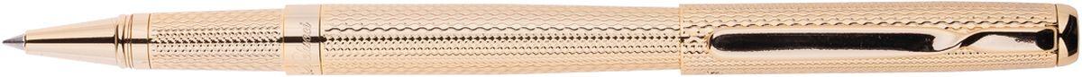 Delucci Ручка роллер синяя корпус золотоCPs_61914Ручка роллер поможет подчеркнуть стиль их обладателей. Цвет корпуса золотистого цвета, с рифлением. Оригинальный клип, изящная гравировка. Диаметр пишущего узла - 0,6 мм.