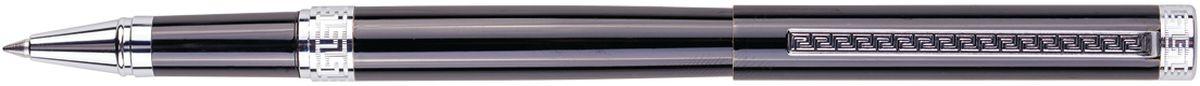 Delucci Ручка роллер черная корпус черный хромCPs_62029Одного взгляда достаточно, чтобы оценить эксклюзивность и роскошный дизайн этой ручки. Цвет корпуса чёрный. Отделка - хром. Оригинальный стильный орнамент на клипе, изящная гравировка. Диаметр пишущего узла - 0,6 мм.